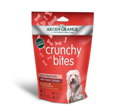 Arden Grange Crunchy Bites Chicken Dog Treats