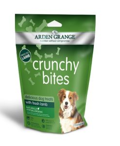 Arden Grange Crunchy Bites Lamb Dog Treats 225g