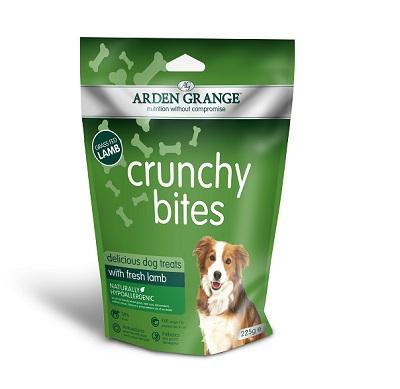 Arden Grange Crunchy Bites Lamb Dog Treats 225g