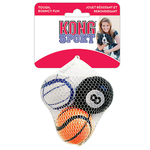 Kong Sport Balls x 3