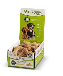 Whimzees Rice Bones Large