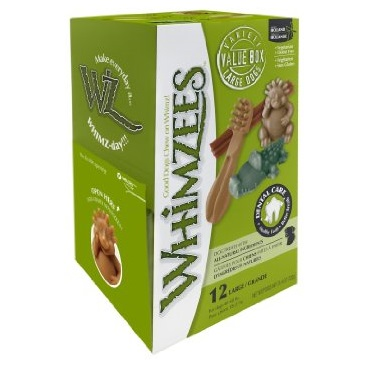 Whimzees Variety Box Large 12 Pieces
